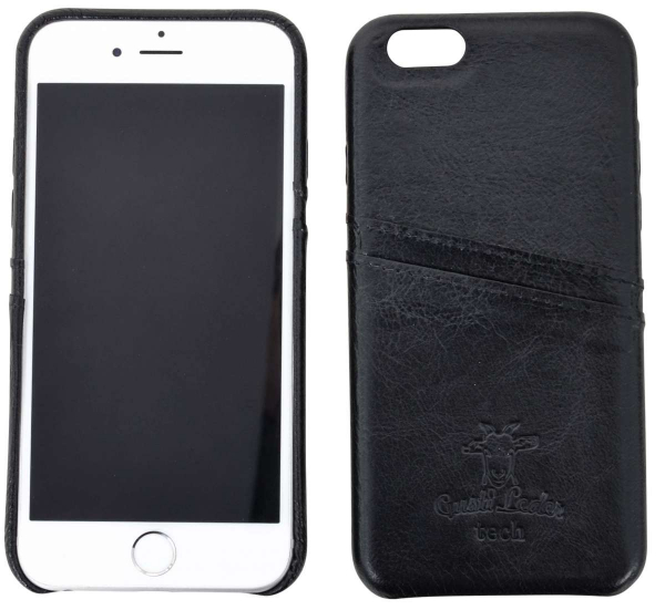Leder-Case in dunkelbraun für iPhone 6s