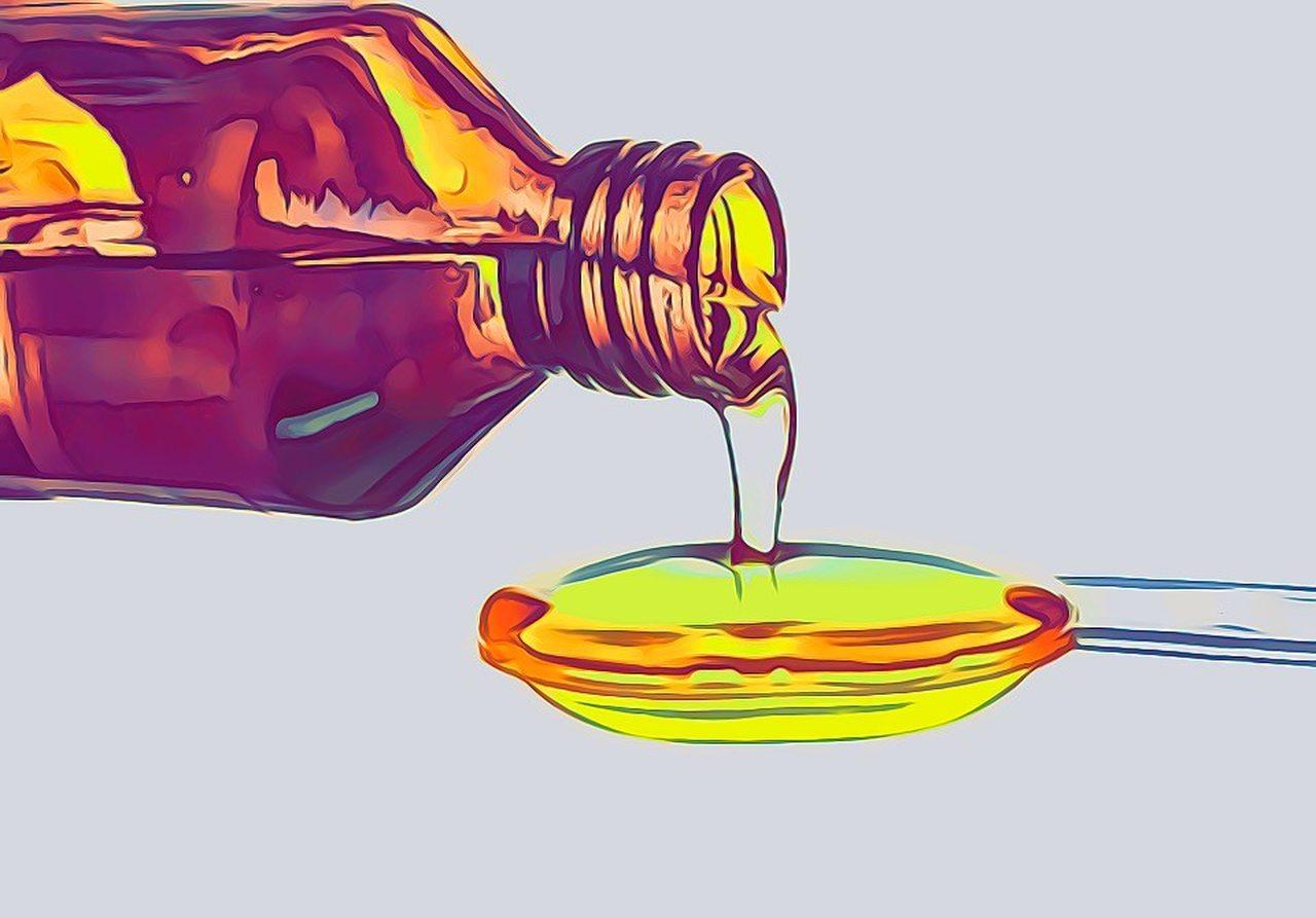 Tran Fischöl Trangerbung