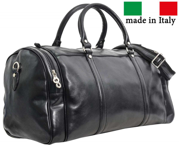Vintage-Reisetasche aus italienischem Leder