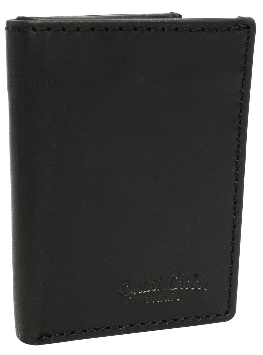 Men s Black Leather Practical and Simple Wallet 1f1465d0e1
