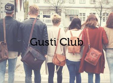 Werde Mitglied im Gusti Club