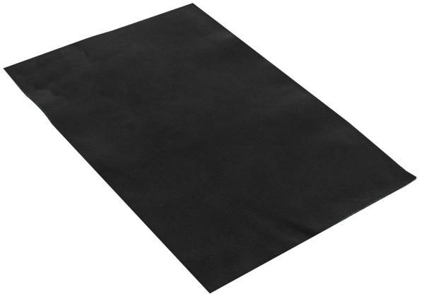 Pedazo de cuero de búfalo negro A5