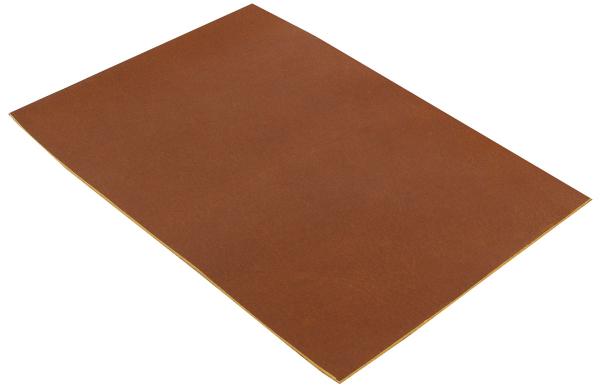 Pièce de cuir de buffle marron A5