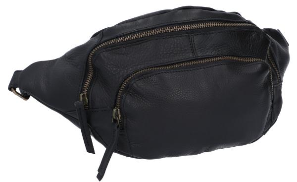 codice promozionale 8f8a7 d4b87 Sverre Marsupio borsello borsa a vita borsellino per concerti borsa di  pelle vintage nero pelle