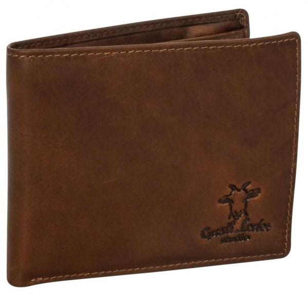 Braune Vintage-Geldbörse für Herren