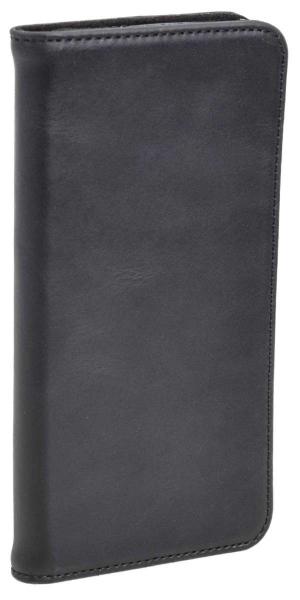 Aufklappbare Leder-Hülle in braun für HTC One M10