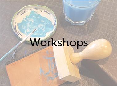 Nimm an unseren Workshops teil