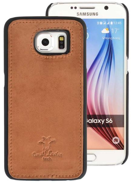 Leder-Case für Samsung Galaxy S6