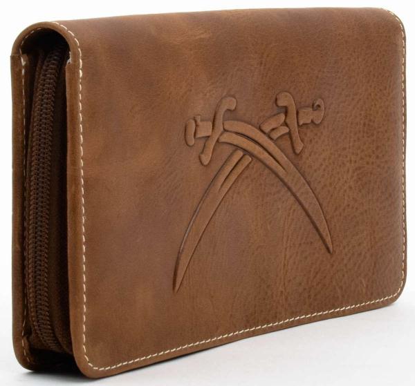 Sansibar Brieftasche mit Reißverschluss