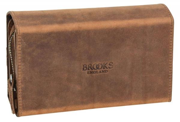 Brooks Leder-Satteltasche in braun