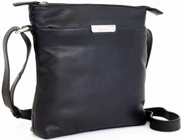 Gerry Weber Leder-Handtasche in schwarz