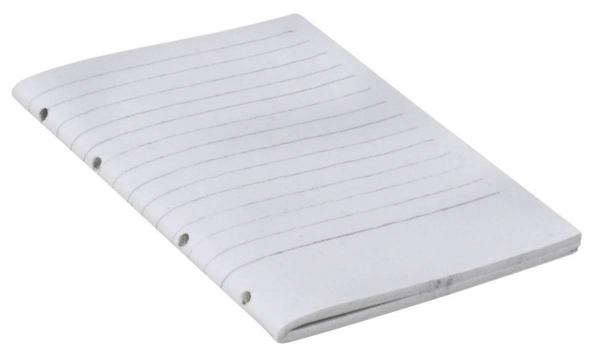 Linierte Notizbucheinlage DIN B6