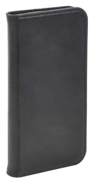 Aufklappbare Leder-Hülle in braun für Samsung Galaxy S7