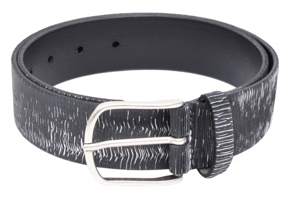 Vanzetti Ledergürtel metallic