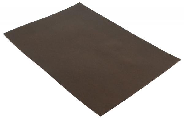 Pedazo de cuero de bufalo marrón A5