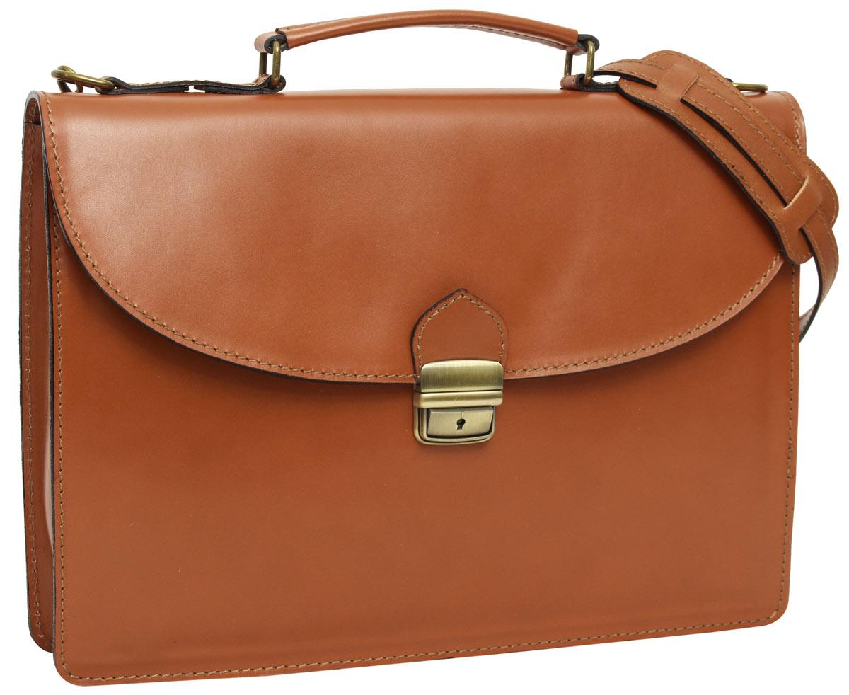 3c475e1cb88b7 Aktentasche Businesstasche Unitasche Collegetasche Lehrertasche Vintage  Braun Leder. Gusti Leder studio