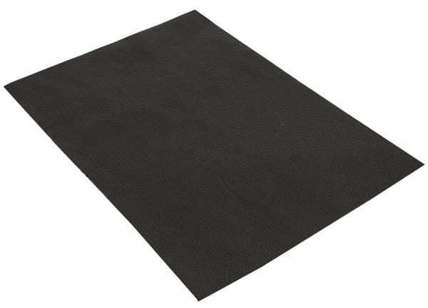 Pedazo de cuero de vaco negro A5