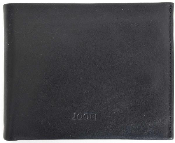 Joop Leder-Geldbörse in schwarz