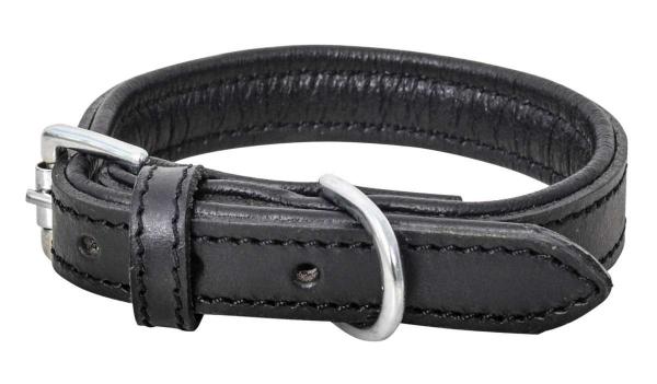 Knuffelwuff Leder-Hundehalsband