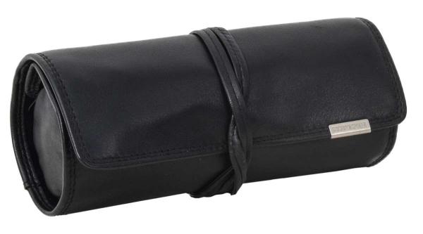 Bodenschatz Leder-Schmuckrolle in schwarz