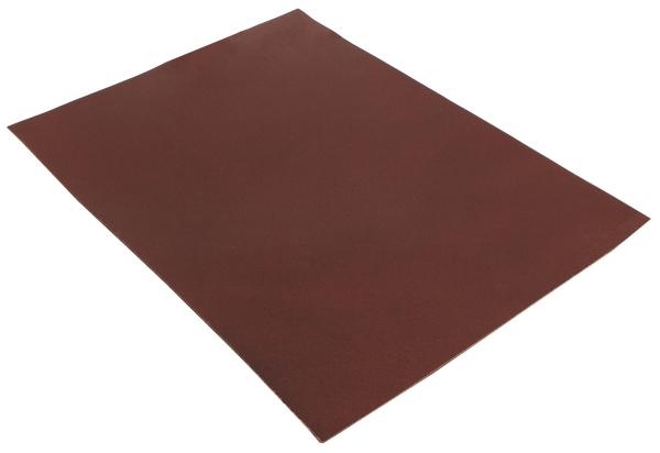 Pièce de cuir de buffle marron