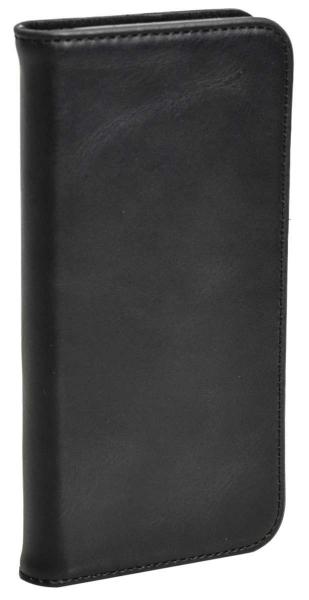 Aufklappbare Leder-Hülle in braun für Samsung Galaxy S8