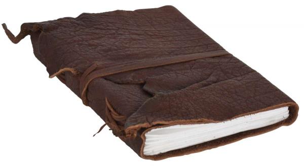 Büffelleder Notizbuch in braun
