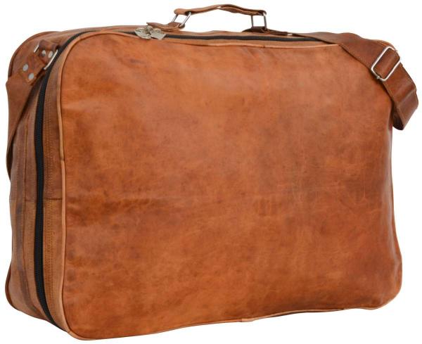 Ziegenleder Koffer-Tasche